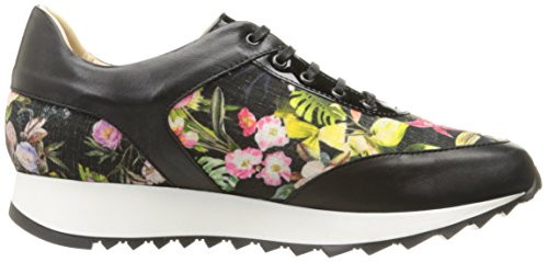 Walking Amalfi Davide Women's Fab Black Blossom by Rangoni Shoe 4w6ZR7