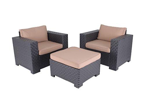 Slim Furniture 3Piece Outdoor Seating