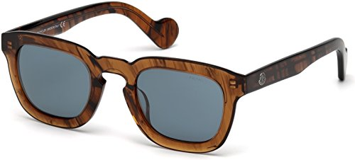 Sunglasses Moncler ML 0009 45V shiny light brown / - Moncler Shiny