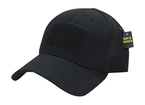 (RAPDOM Tactical Tactical Air Mesh Flex Caps, Black )