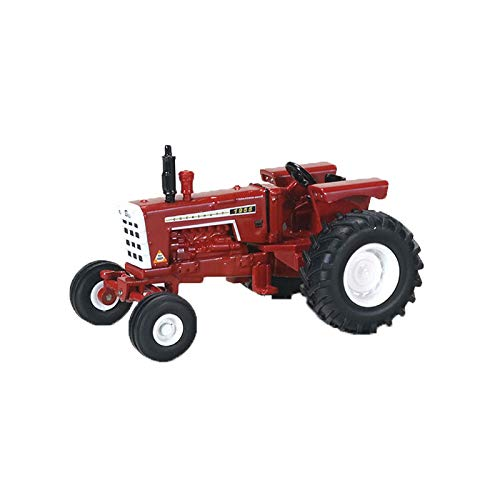 Cockshutt Tractor - Cockshutt 1955 Tractor with A Wide Front 1/64 Scale