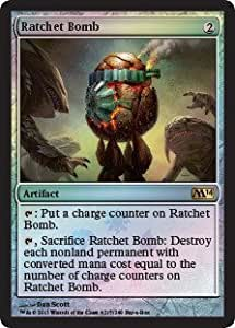 Magic The Gathering Ratchet Bomb Buy-A-Box Promo Foil Card M14 by: Amazon.es: Juguetes y juegos