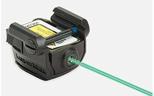 LaserMax Micro UniMax Fits Picatinny, Black Finish, Green by L-M-X