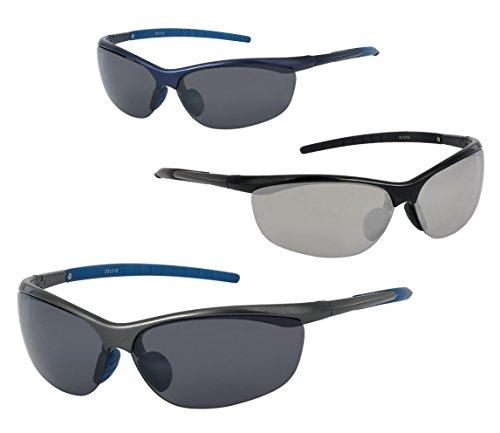 soleil Sport Monture bleue verres et de gris Lunettes 1twq5I