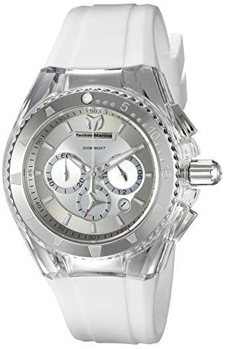 Technomarine Women's TM-115171 Cruise Pearl Analog Display Quartz White Watch
