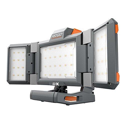 - RIDGID R8694221B GEN5X 18-Volt Hybrid Folding Panel Light