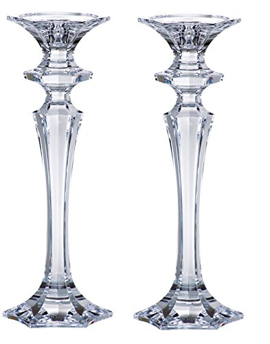 Barski - Beautiful Crystalline Candlesticks - Candlestick is 10