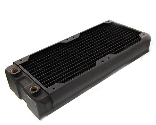 (Black Ice Nemesis 240GTX Dual-Core Xtreme Profile Radiator Black Carbon )