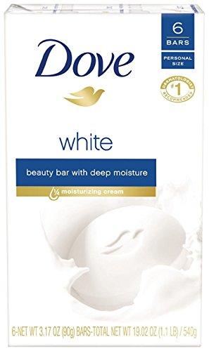 Dove Beauty Bar - White - 3.17 oz - 6 ct
