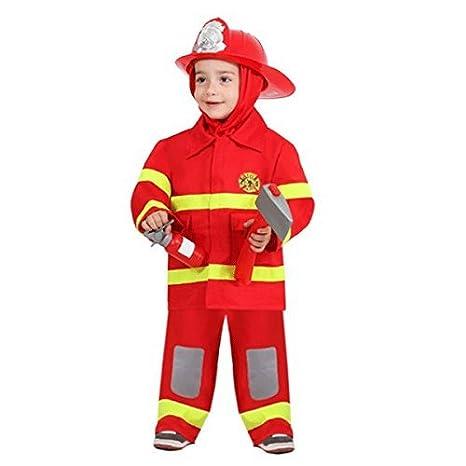 abbigliamento sportivo ad alte prestazioni design di qualità eccezionale gamma di colori COSTUME DI CARNEVALE PICCOLO POMPIERE BAMBINO (4 - 5 anni)