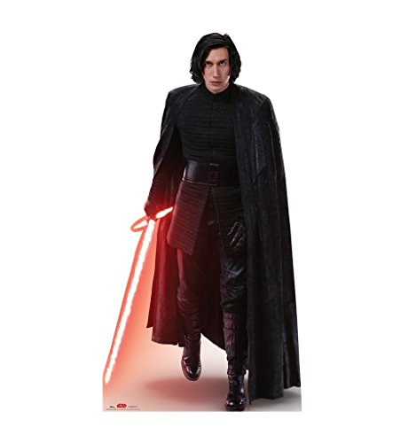 Kylo Ren Action - Star Wars: Episode VIII - The Last Jedi (2017 Film) - Advanced Graphics Life Size Cardboard Standup