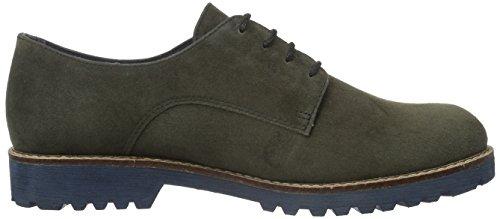 Tamaris 23204, Zapatos de Cordones Oxford para Mujer Gris (ANTHRACITE 214)