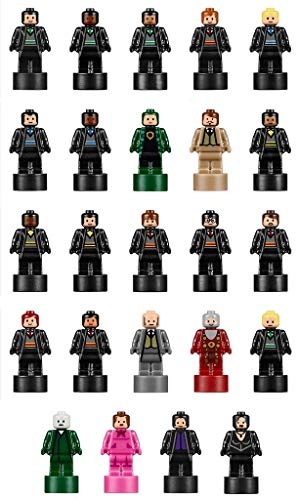 LEGO Harry Potter: Set of 24 Microfigs from Hogwarts Castle - Very Small (Voldemort Lego)