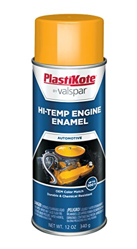 Yellow Enamel Spray Paint (PlastiKote 198 Hot Rod Yellow Engine Enamel - 12 Oz.)