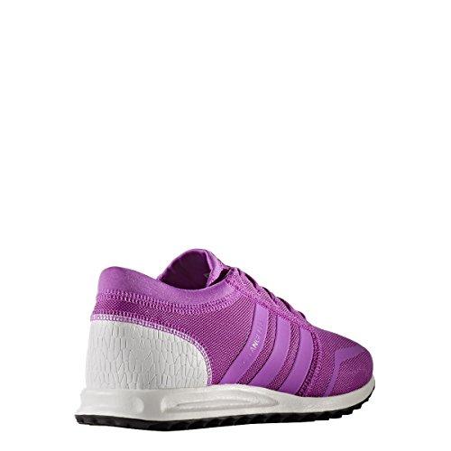 Adidas Originali Da Donna Originali Scarpe Da Ginnastica Angeles Us6 Viola