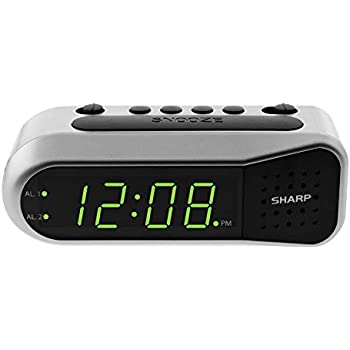 Amazon.com: Timex T121B Alarm Clock with 0.7-Inch Red