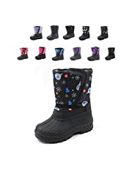 Ska-Doo Cold Weather Snow Boot 1319 Winter Prints Size Toddler 6