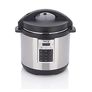 Fagor 670041930 Premium Electric Pressure and Rice Cooker, 6 quart, Silver 9