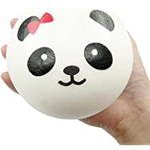 Jumbo Slow Rising Squishies Squeeze Kid Toy Cream Scented Squishy Stress Relief Ball Keychain