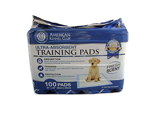 (AKC Training Pads, 100-Pack)