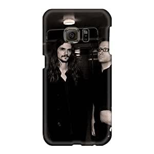 Shock-Absorbing Hard Cell-phone Cases For Samsung Galaxy S6 (GzA145eTin) Customized Nice Cryptopsy Band Skin