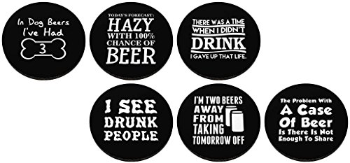 Coaster Bundle Sayings Rubber Coasters
