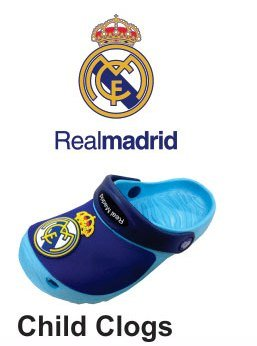 flagsandsouvenirs Real Madrid Clogs