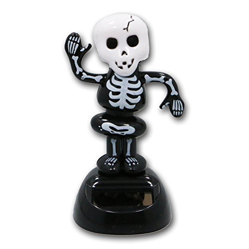 Skeleton Solar Powered Dancing Figure for Halloween or
