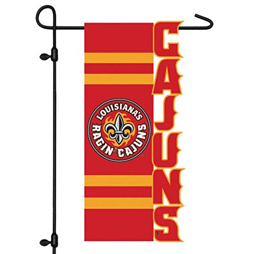 NCAA Louisiana-Lafayette Ragin Cajuns Cut-Out Applique Garde