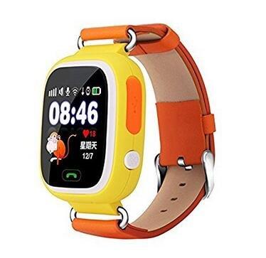 Q90 GPS reloj inteligente para niños bebé reloj Tarjeta SIM reloj inteligente teléfono a salvo anti-lost Monitor SOS Llamada niños deporte reloj de pulsera: ...