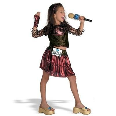 Child American Idol Deluxe Costume - New Orleans Audition-Small (New Orleans Costume)