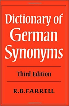 Dictionary of synonym?
