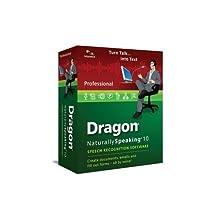 Dragon NaturallySpeaking 10 Professional (English)