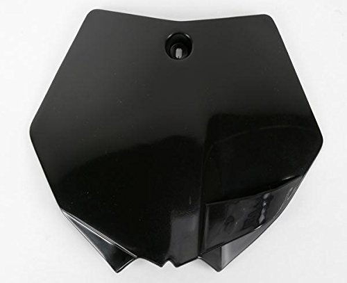 UFO KA04730-001 Replacement Plastic (FOR KAWASAKI PLATE # KX85 ''14 BLACK)