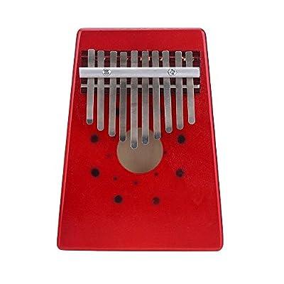 SODIAL(R)10 Keys Birch Finger Thumb Piano Mbira by SODIAL£¨R£©