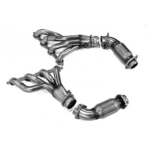 Connection Pipes Catted (Kooks Custom Headers 24201220 Shorty Header w/Catted Connection Pipes Fits G8)