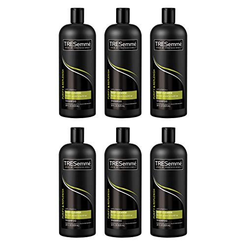 Conditioner Remoisturizing (Tresemme Shampoo, Purify & Replenish Deep Cleansing, 28 Ounce (Pack of 6))