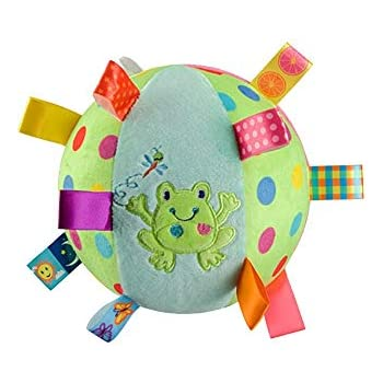 Colorful Ball Bell Children Cloth Ball Baby Hand Grasp Ball Soft Stuffed Toys L