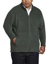 Men's Big & Tall Full-Zip Polar Fleece Jacket fit by DXL