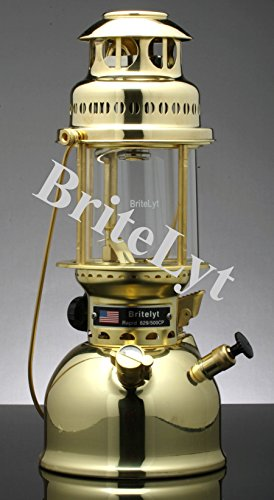 BriteLyt/Petromax USA 500CP/XL Pressure Lantern Polished brass finish by BriteLyt/Petromax USA (Image #4)