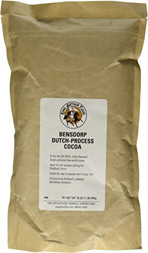 Dutch Flour - King Arthur Flour Bensdorp Dutch-Process Cocoa (16 Oz)