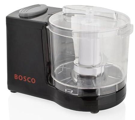 Black Mini Chopper Blender Grinder Slicer Baby Food Processor 120w Bosco