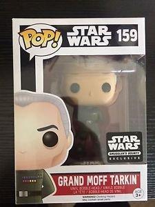 Star Wars Smuggler's Bounty Exclusive Death Star Grand Moff Tarkin Funko Pop #159 by Finko Pop
