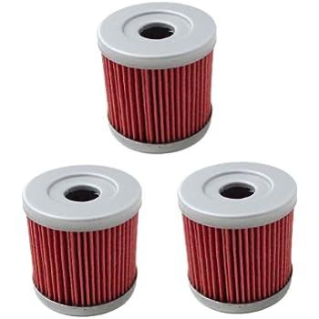 HF139 Oil Filter for Suzuki Z400 LTZ400 LT-Z400 Z LTZ 400 LTR450 LT-R450  LTR 450 DRZ400 Kawasaki KFX400 KFX 400 Artic Cat DVX400 DVX 400 Replace  KN139