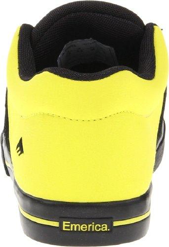 Emerica REYNOLDS 3 Kids 6302000006 Unisex-Kinder Sneaker Schwarz (Black/Lime)