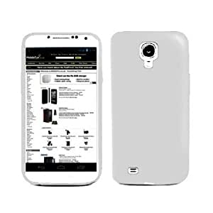 Bloutina Importer520 Silicone Rubber Gel Soft Skin Case Cover for Samsung Galaxy S4 S 4 SIV S IV i9500 (White)