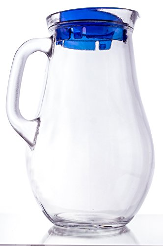 glass jug with sealed lid - 6
