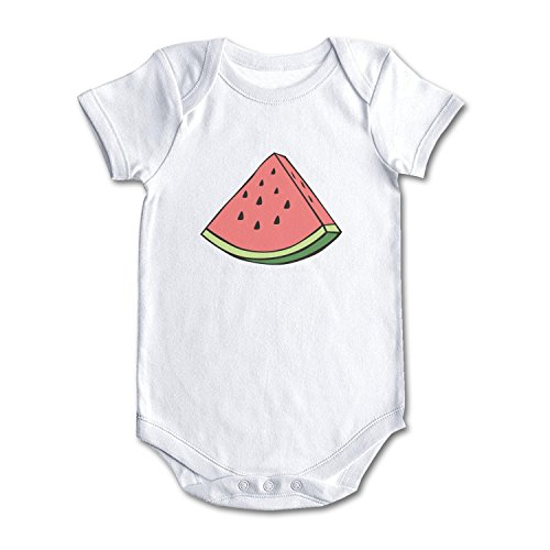 lsawdas Watermelon Unisex Baby Cotton Short Sleeve Cute Baby Clothes Baby ()