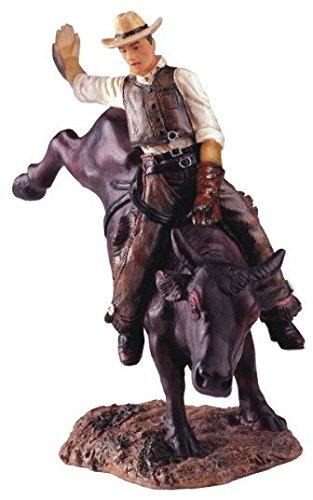 StealStreet SS-G-11327, Cowboy Bull Rider Collectible Western Rodeo Figurine Statue Sculpture