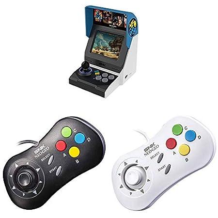 NEOGEO Mini International + Gamepads(Black and White)